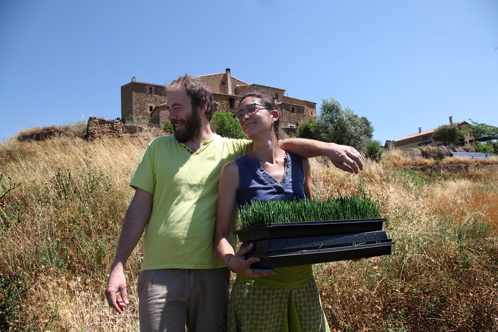 Andreu y Coral de Clorofeeling