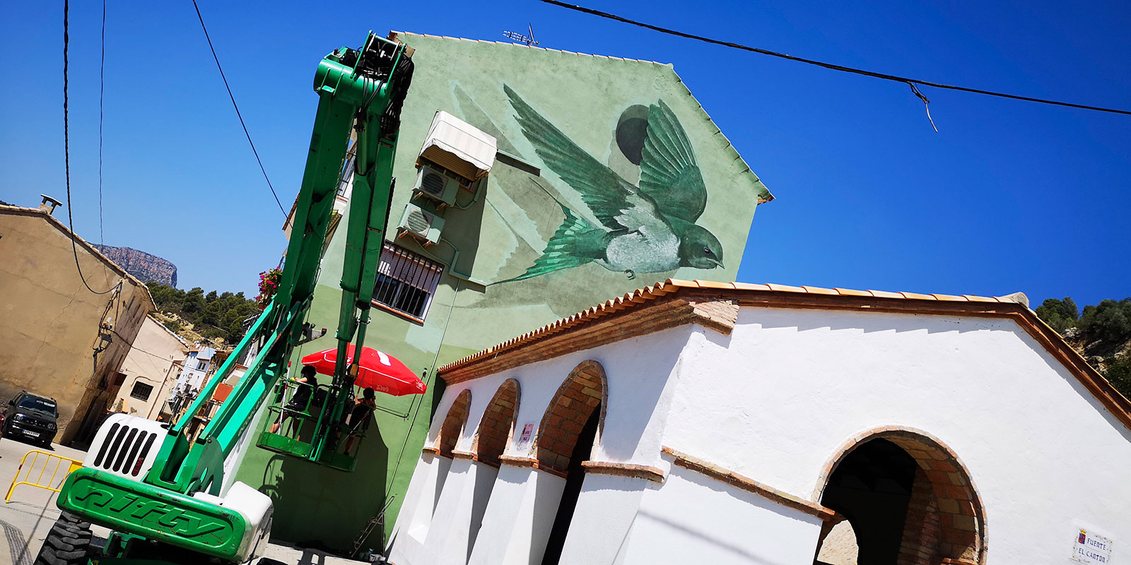 Obra de Medianeras Murales