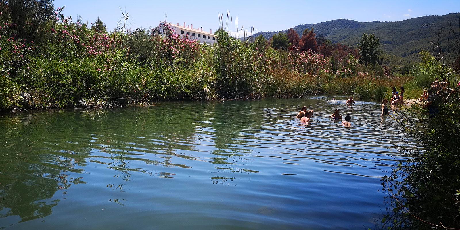 Qué hacer en Fanzara: baño en el río Mijares