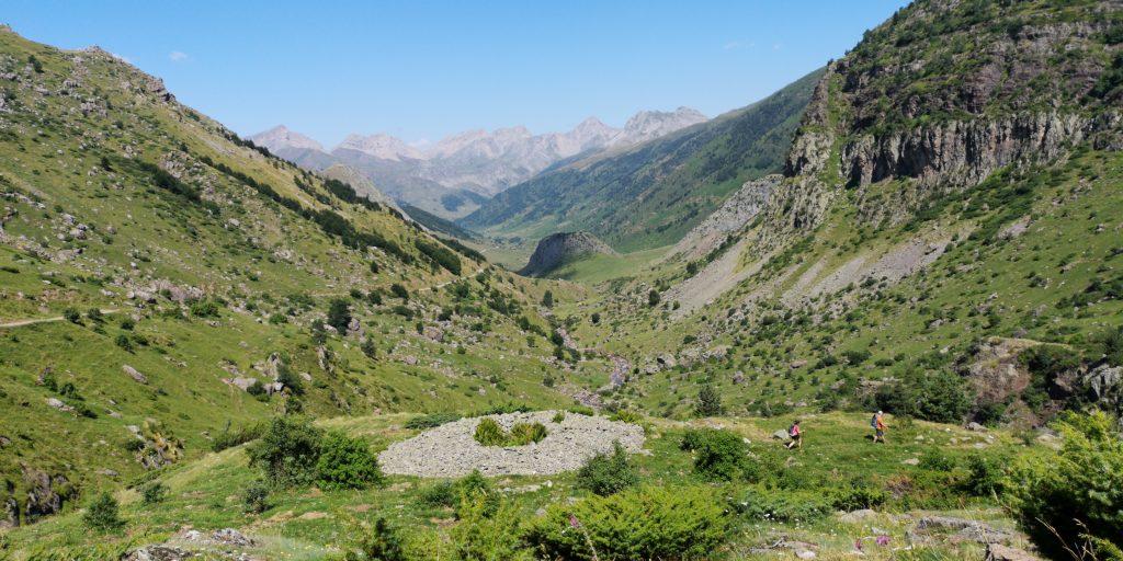 Disfrutando de la naturaleza en el Valle de Hecho