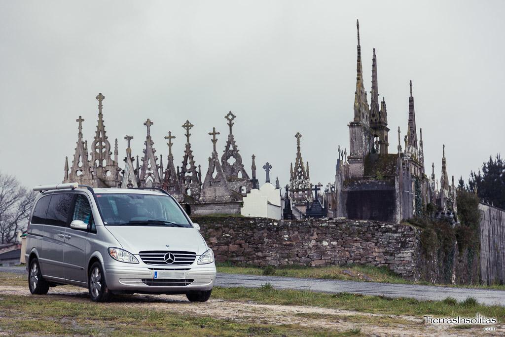 Visitando cementerios góticos en Galicia