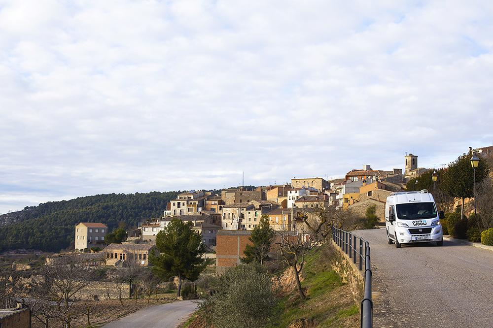 vanwoow autocaravana en Rocallaura Urgell