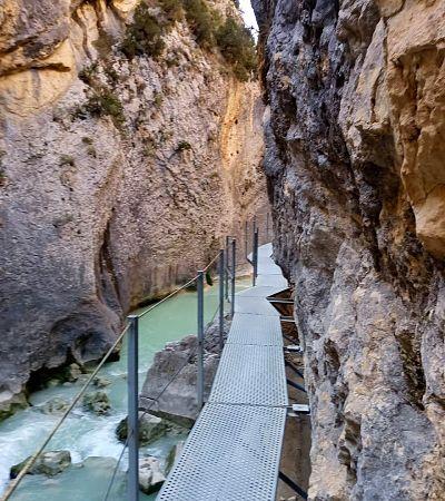 Ruta de las pasarelas rio Vero