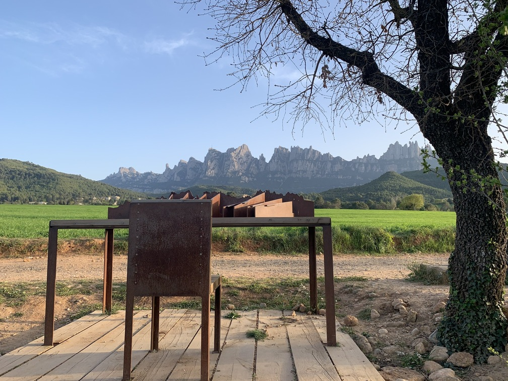 Montserrat desde Marganell