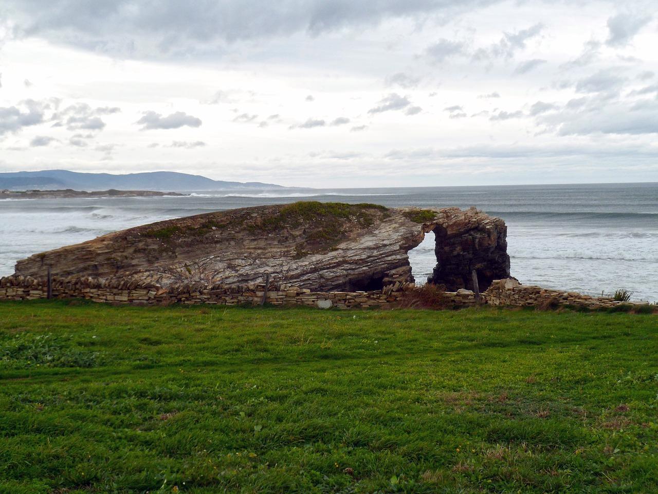 paisaje de costa atlántica