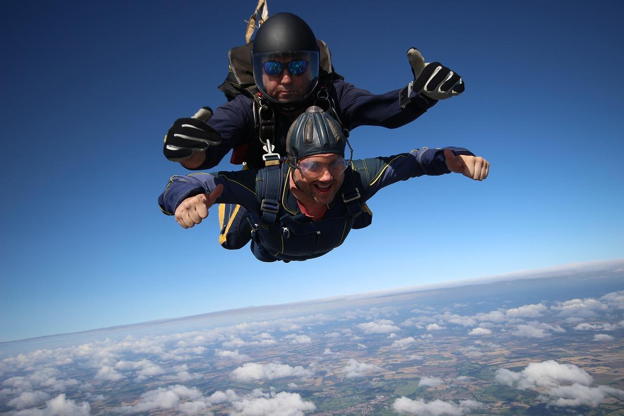 skydive en canarias