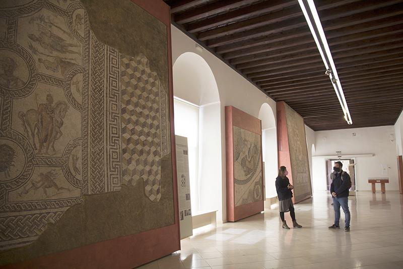 Mosaicos del Palacio de Benamejí