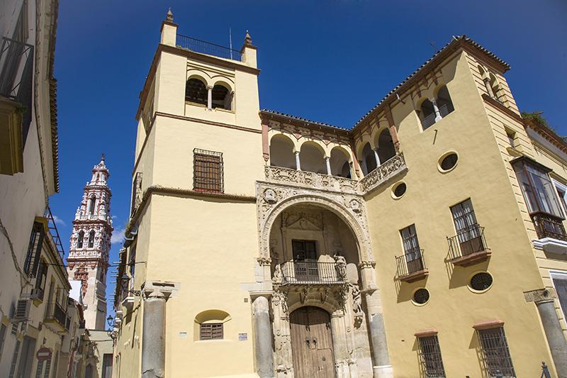 Palacio de Valdehermoso, punto estratégico de la ciudad