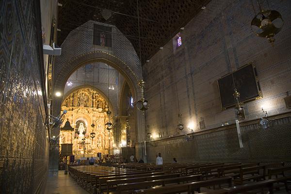 Interior del Santuario de la Consolación