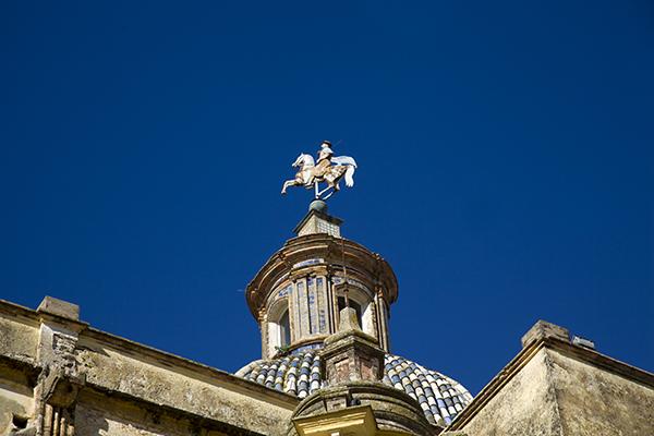 Detalle de la Iglesia de Santiago